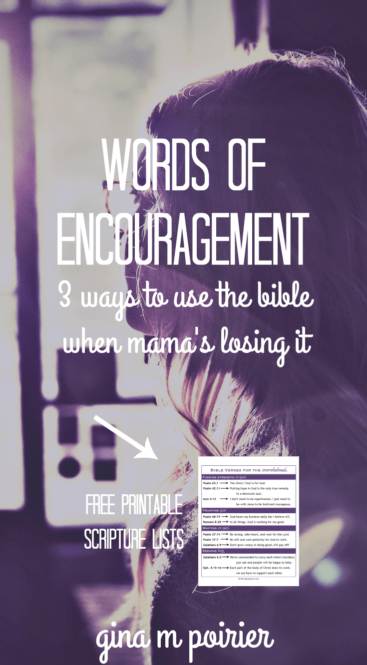 Words of Encouragement | Encouraging Bible Verses