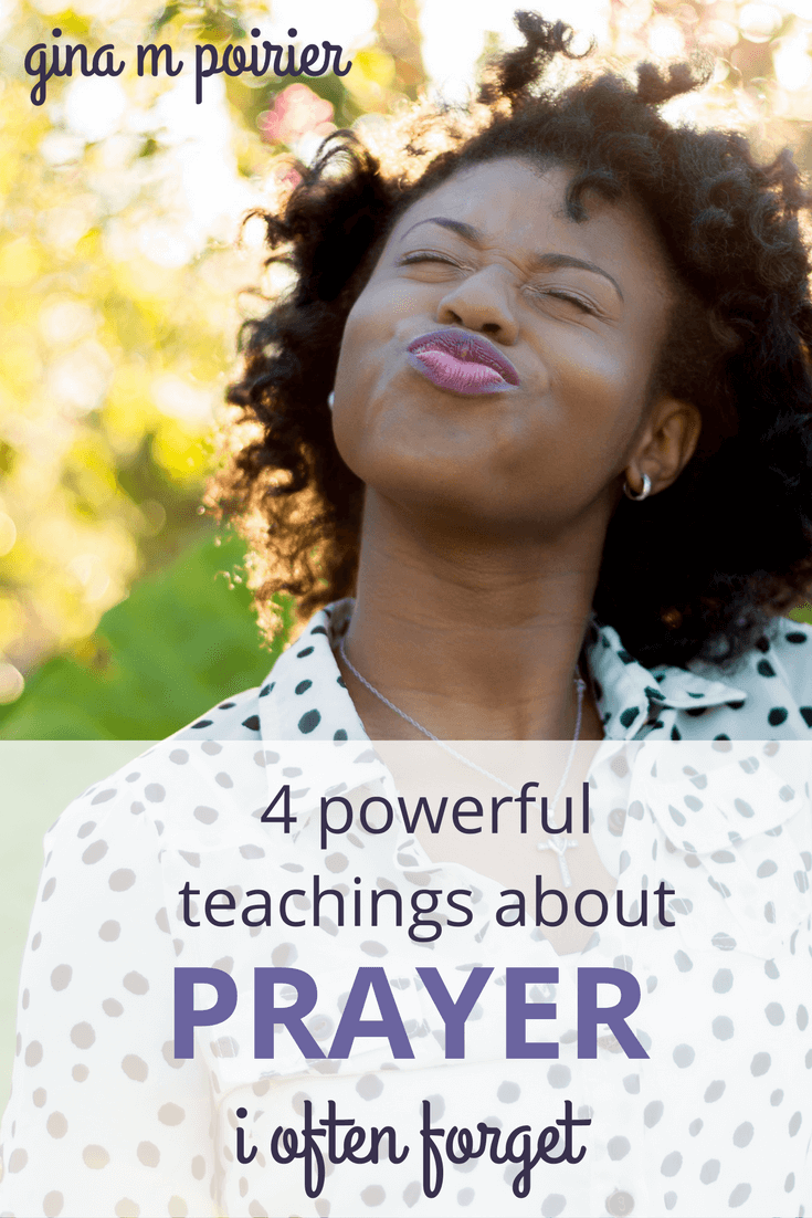 Teachings about Prayer